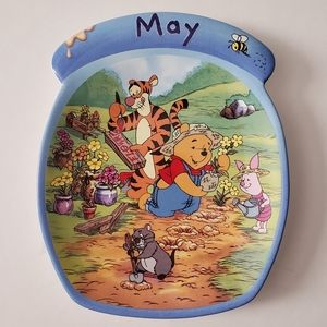 Winnie the Pooh The Whole Year Through May Plate